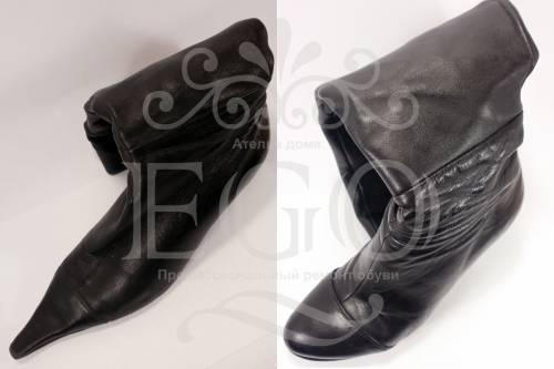 Ремонт носка обуви своими руками